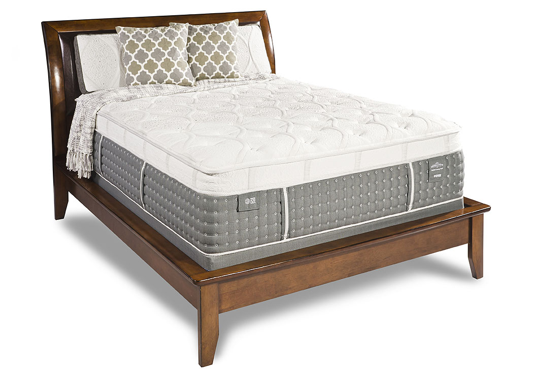 Generations Duchess Medium Plush Full Mattress W/ Foundation,Diamond  Mattress